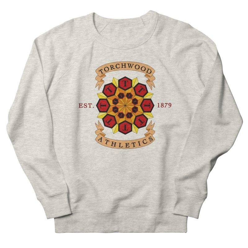 Torchwood Athletics Women's Sweatshirt by Magickal Vision: The Art of Jolie E. Bonnette