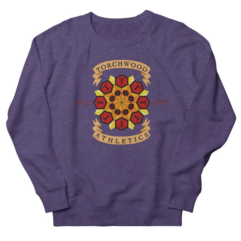 Torchwood Athletics Men's French Terry Sweatshirt by Magickal Vision: The Art of Jolie E. Bonnette