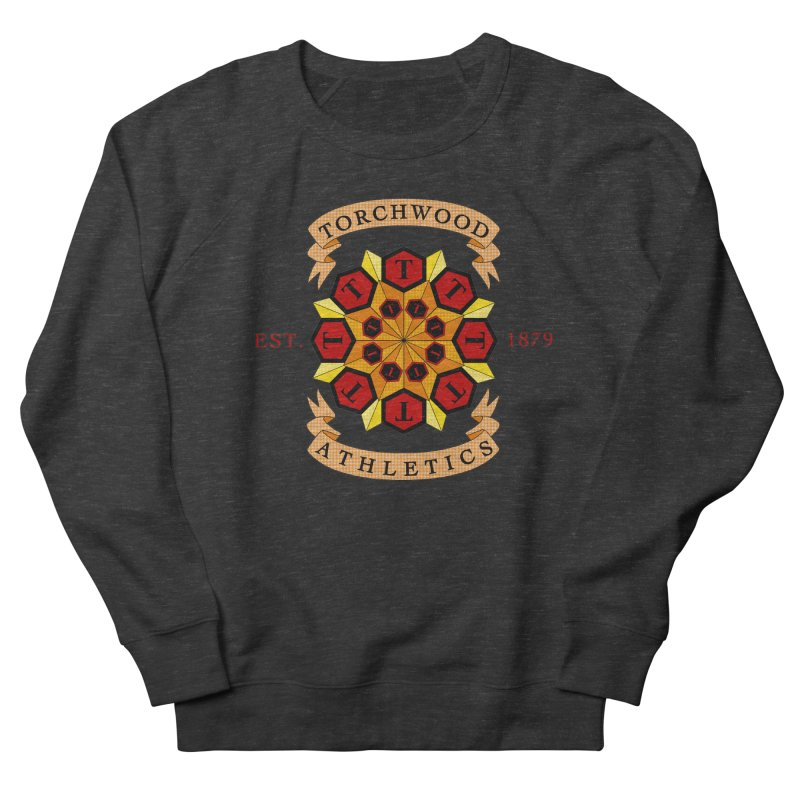 Torchwood Athletics Men's Sweatshirt by Magickal Vision: The Art of Jolie E. Bonnette