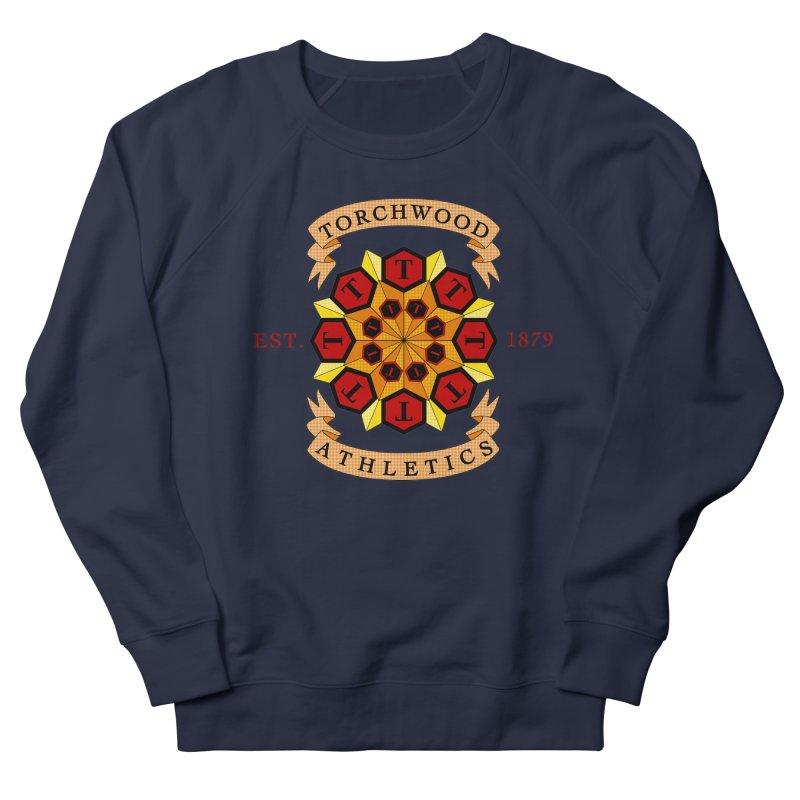 Torchwood Athletics Men's French Terry Sweatshirt by Magickal Vision: The Art of Jolie E. Bonnette