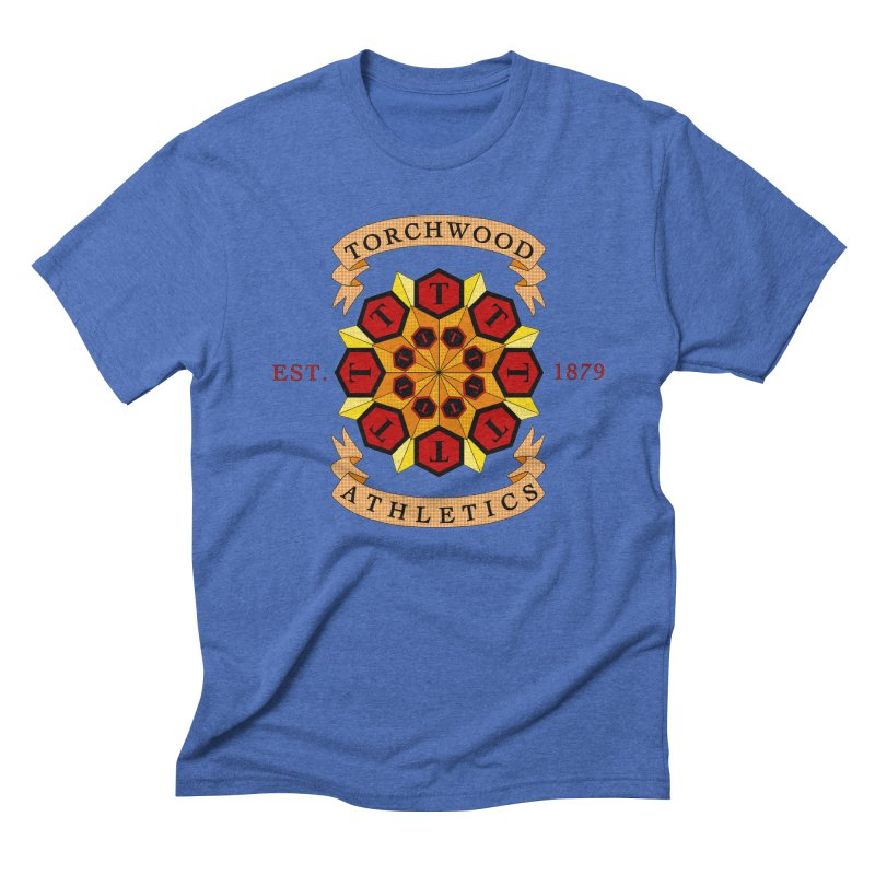 Torchwood Athletics Men's Triblend T-Shirt by Magickal Vision: The Art of Jolie E. Bonnette