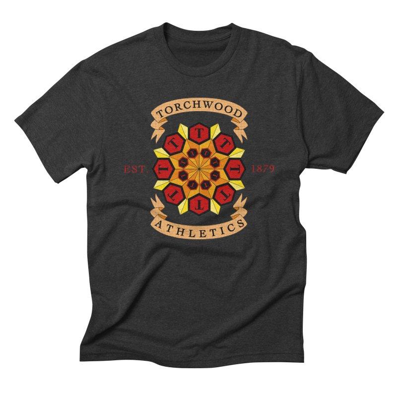 Torchwood Athletics Men's Triblend T-shirt by Magickal Vision: The Art of Jolie E. Bonnette