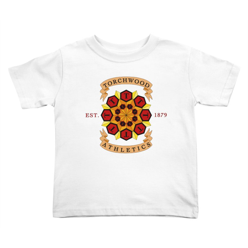 Torchwood Athletics Kids Toddler T-Shirt by Magickal Vision: The Art of Jolie E. Bonnette