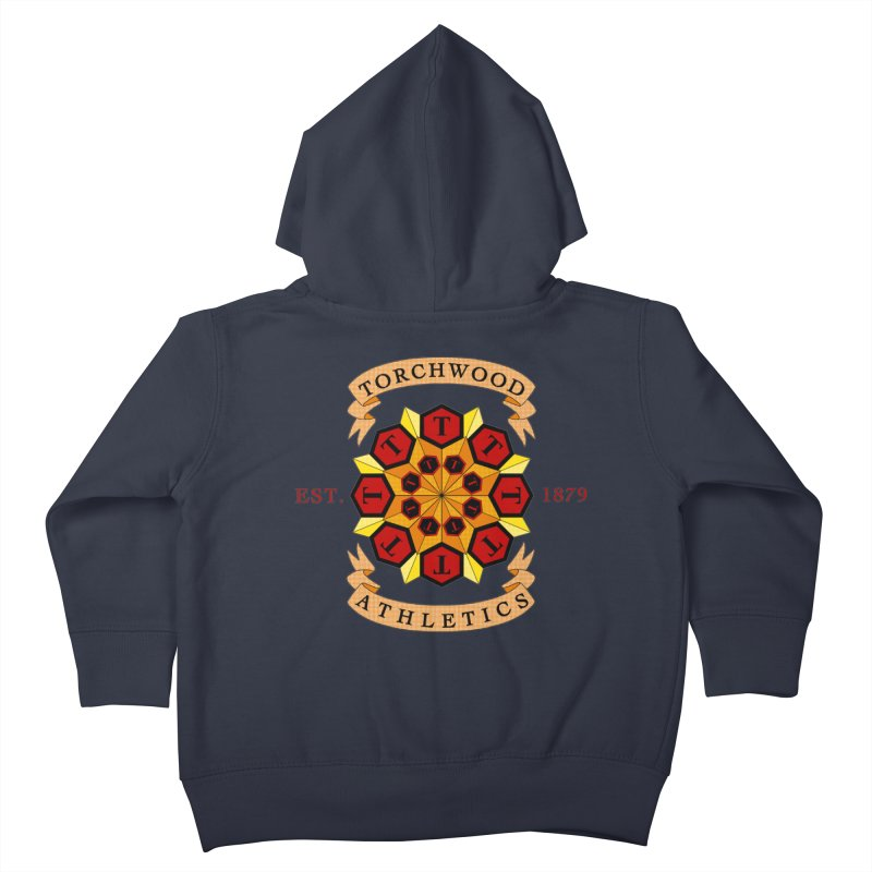 Torchwood Athletics Kids Toddler Zip-Up Hoody by Magickal Vision: The Art of Jolie E. Bonnette