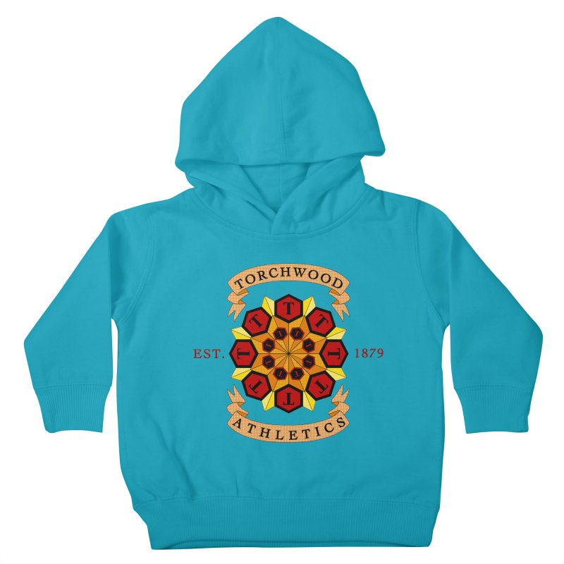 Torchwood Athletics Kids Toddler Pullover Hoody by Magickal Vision: The Art of Jolie E. Bonnette
