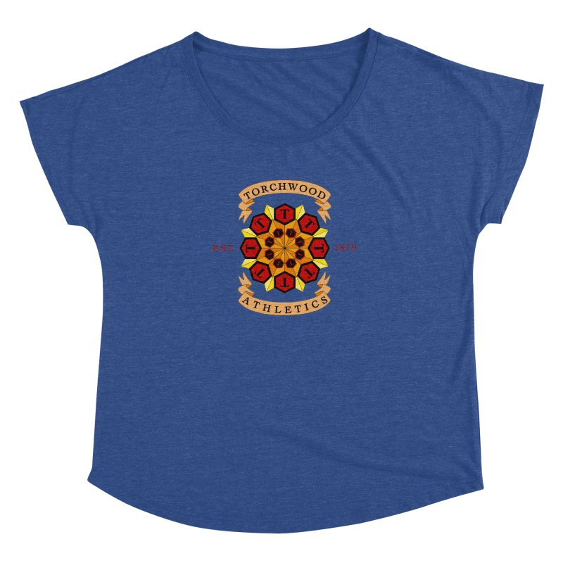 Torchwood Athletics Women's Dolman Scoop Neck by Magickal Vision: The Art of Jolie E. Bonnette