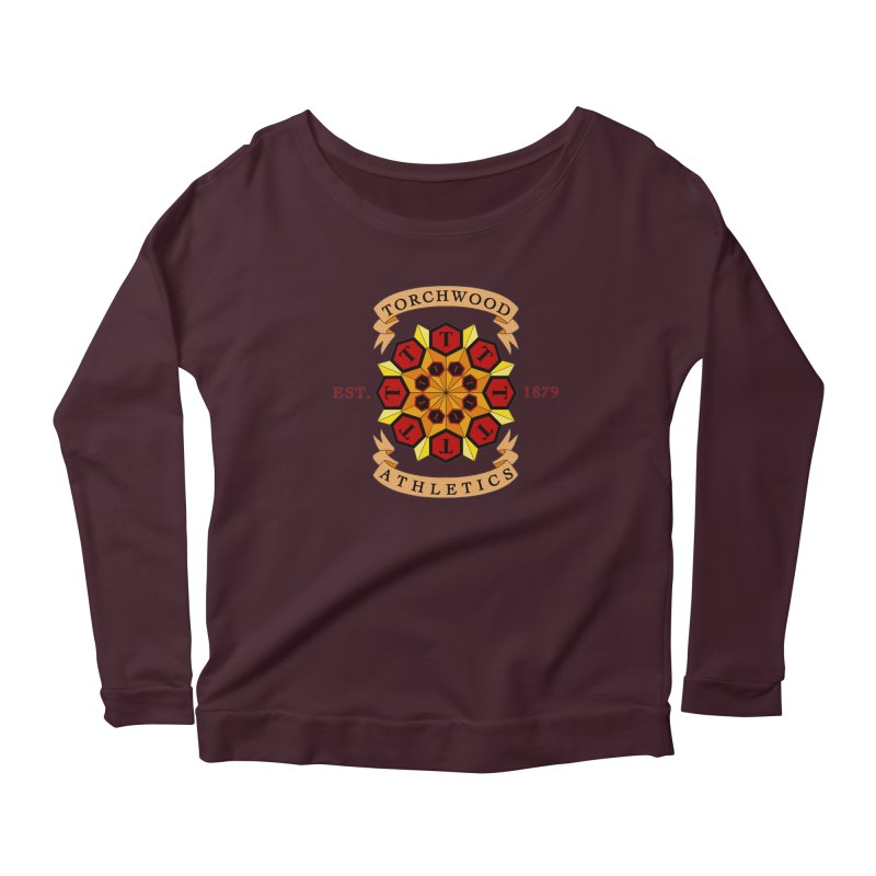 Torchwood Athletics Women's Scoop Neck Longsleeve T-Shirt by Magickal Vision: The Art of Jolie E. Bonnette