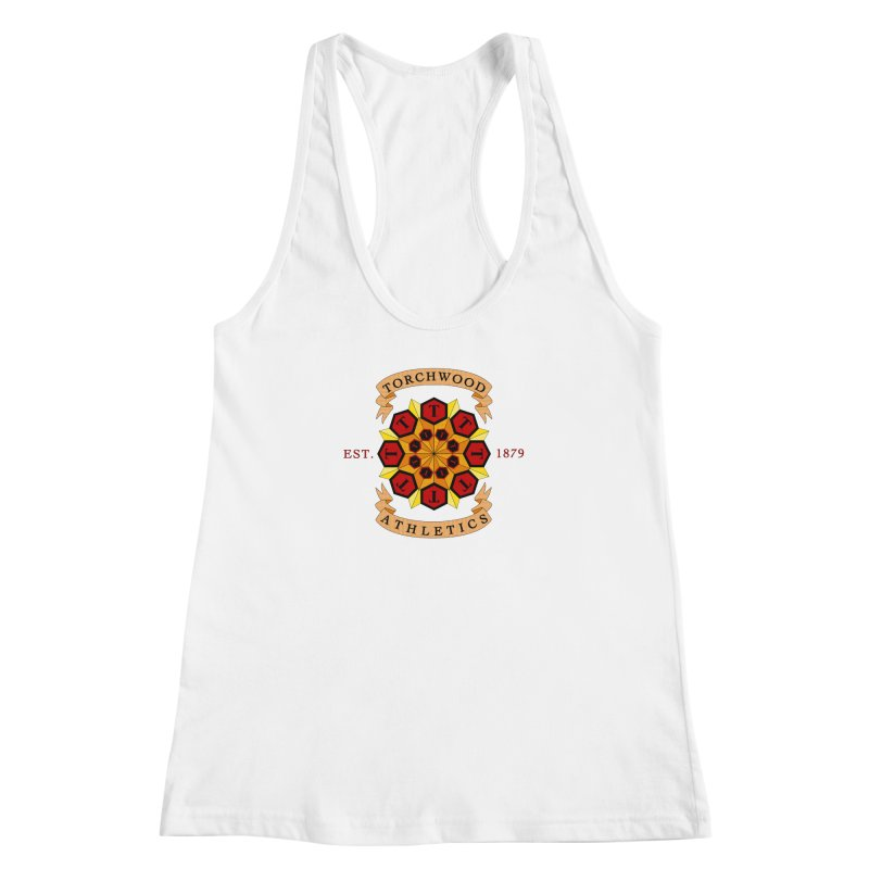 Torchwood Athletics Women's Racerback Tank by Magickal Vision: The Art of Jolie E. Bonnette
