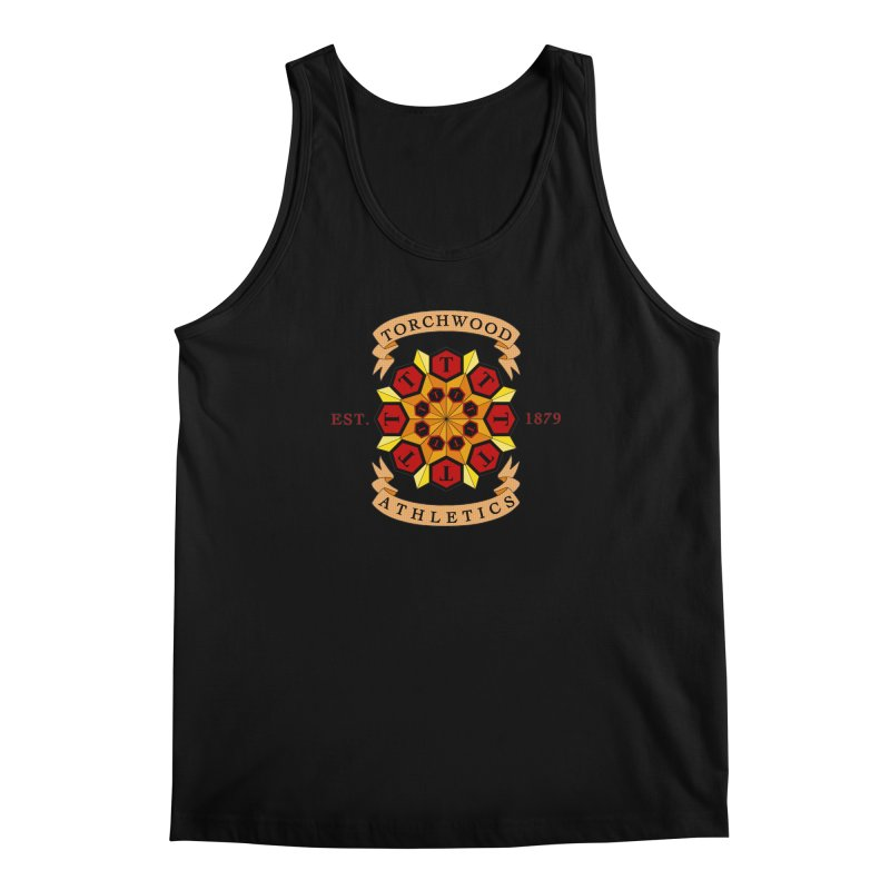 Torchwood Athletics Men's Regular Tank by Magickal Vision: The Art of Jolie E. Bonnette