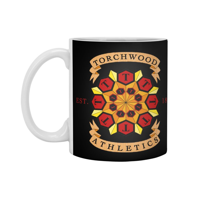 Torchwood Athletics Accessories Mug by Magickal Vision: The Art of Jolie E. Bonnette