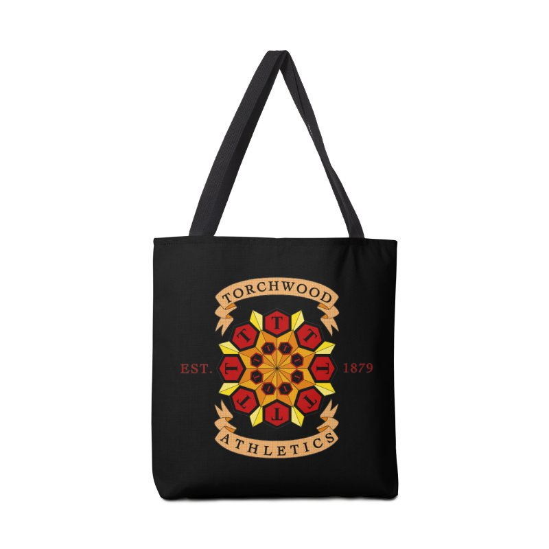 Torchwood Athletics Accessories Tote Bag Bag by Magickal Vision: The Art of Jolie E. Bonnette