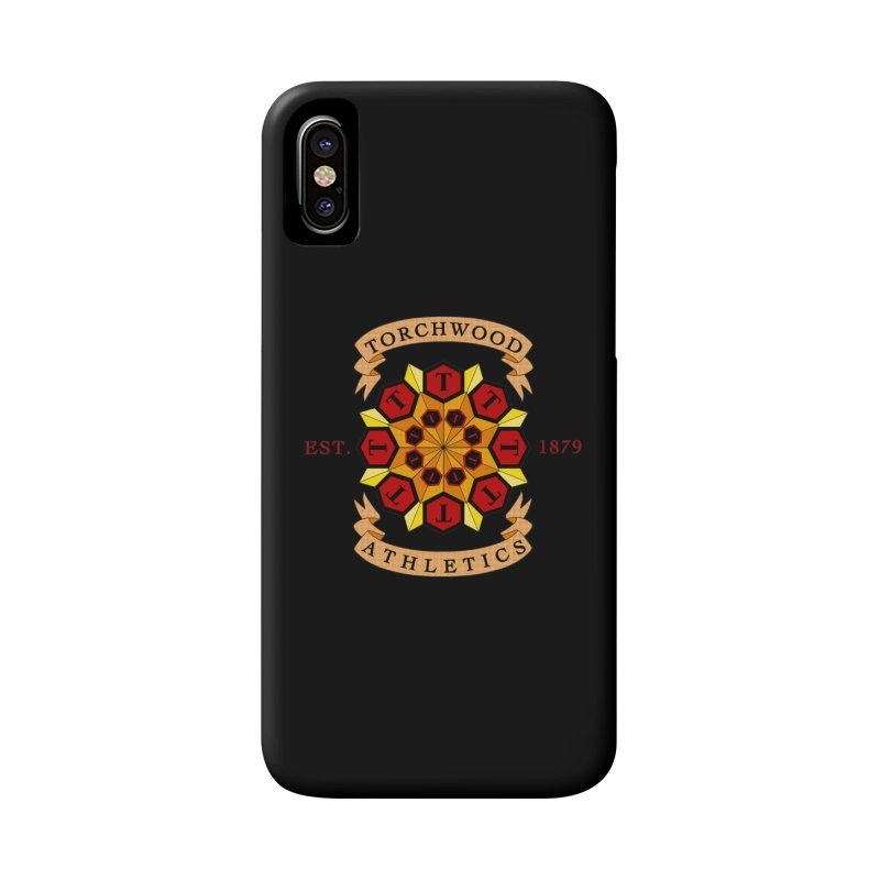 Torchwood Athletics Accessories Phone Case by Magickal Vision: The Art of Jolie E. Bonnette