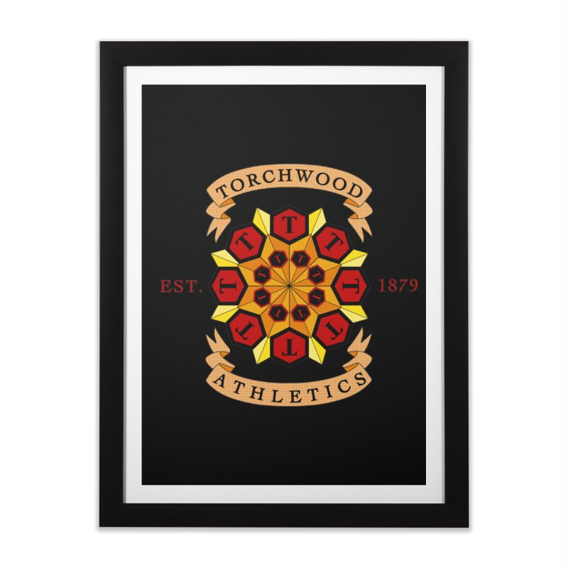Torchwood Athletics Home Framed Fine Art Print by Magickal Vision: The Art of Jolie E. Bonnette