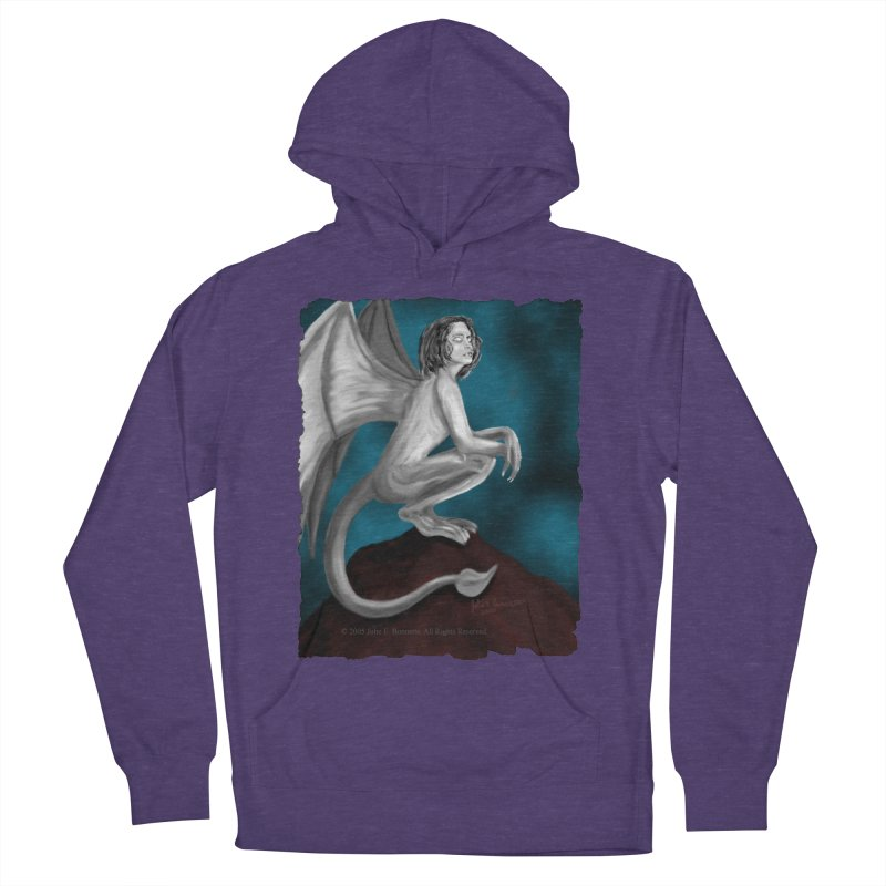 Succubus Dreams Women's French Terry Pullover Hoody by Magickal Vision: The Art of Jolie E. Bonnette