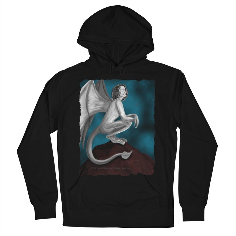 Succubus Dreams Men's French Terry Pullover Hoody by Magickal Vision: The Art of Jolie E. Bonnette