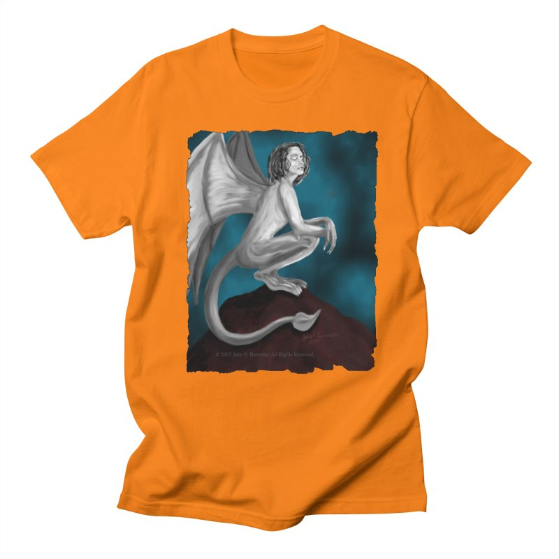 Succubus Dreams Men's Regular T-Shirt by Magickal Vision: The Art of Jolie E. Bonnette