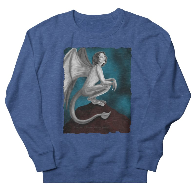 Succubus Dreams Men's French Terry Sweatshirt by Magickal Vision: The Art of Jolie E. Bonnette