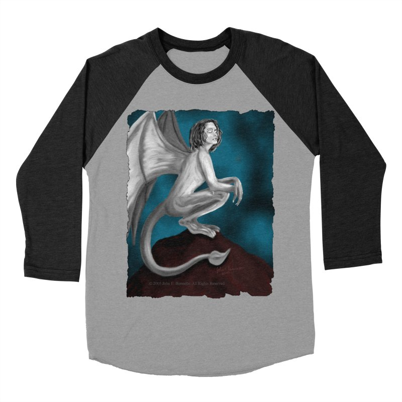 Succubus Dreams Women's Baseball Triblend T-Shirt by Magickal Vision: The Art of Jolie E. Bonnette