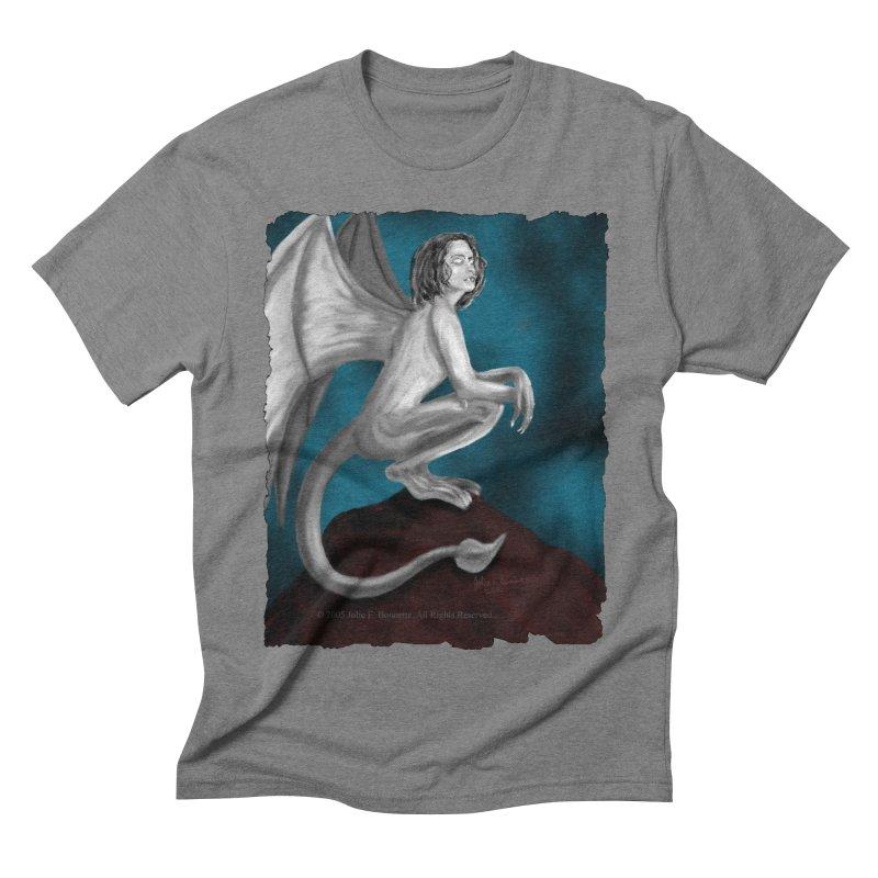 Succubus Dreams Men's Triblend T-shirt by Magickal Vision: The Art of Jolie E. Bonnette