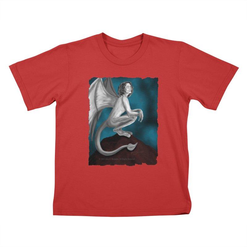 Succubus Dreams Kids T-Shirt by Magickal Vision: The Art of Jolie E. Bonnette