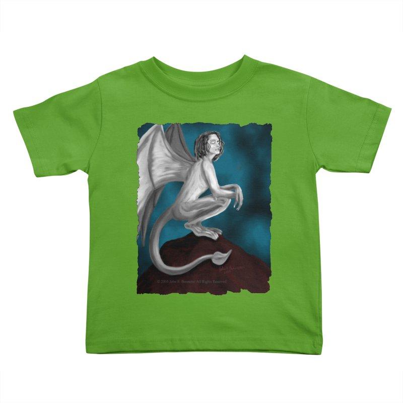 Succubus Dreams Kids Toddler T-Shirt by Magickal Vision: The Art of Jolie E. Bonnette