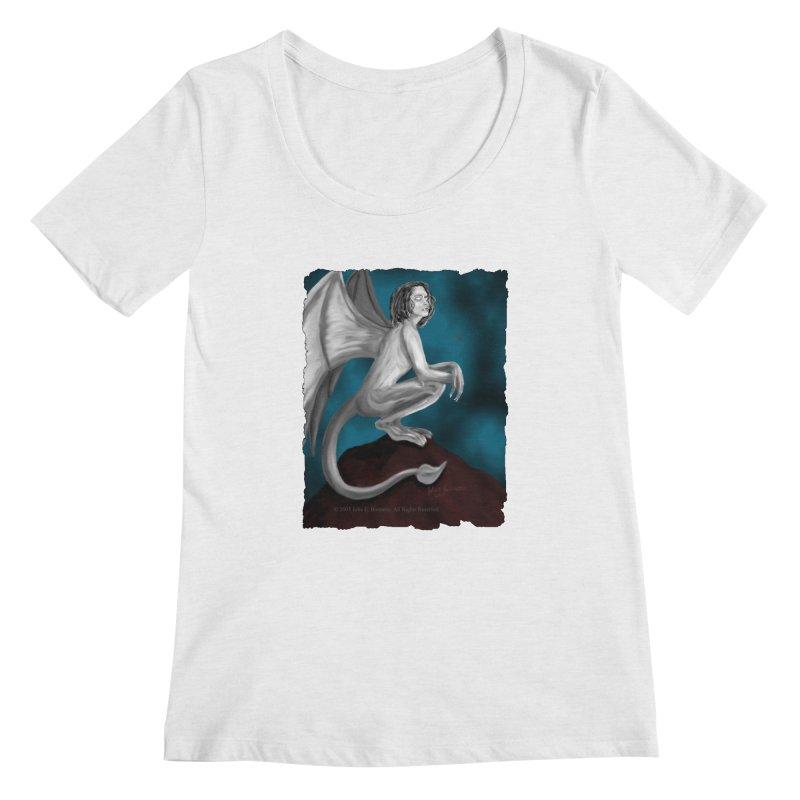 Succubus Dreams Women's Scoopneck by Magickal Vision: The Art of Jolie E. Bonnette