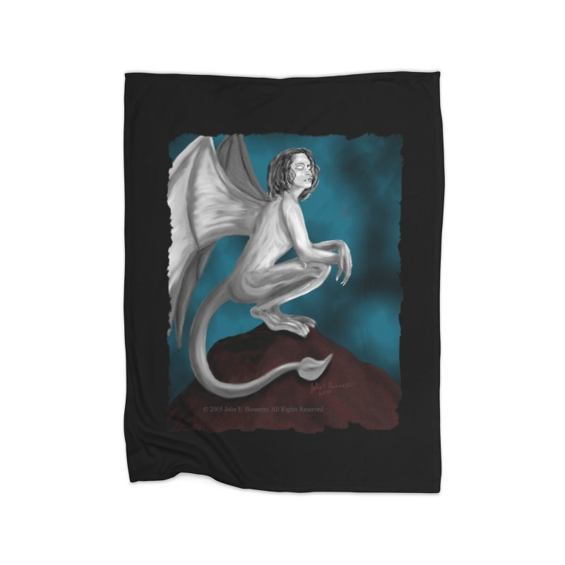 Succubus Dreams Home Blanket by Magickal Vision: The Art of Jolie E. Bonnette