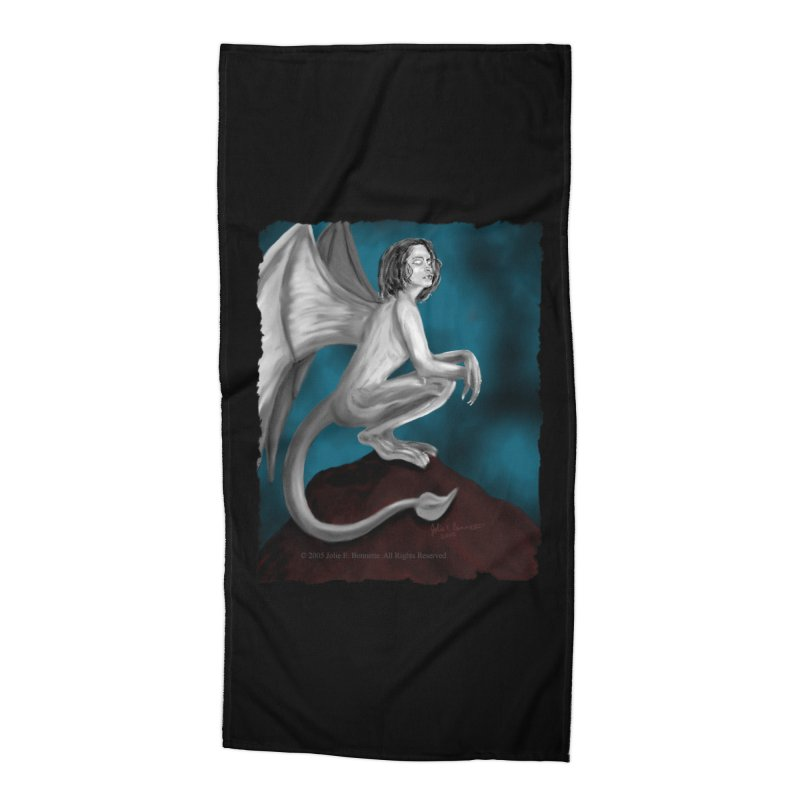 Succubus Dreams Accessories Beach Towel by Magickal Vision: The Art of Jolie E. Bonnette