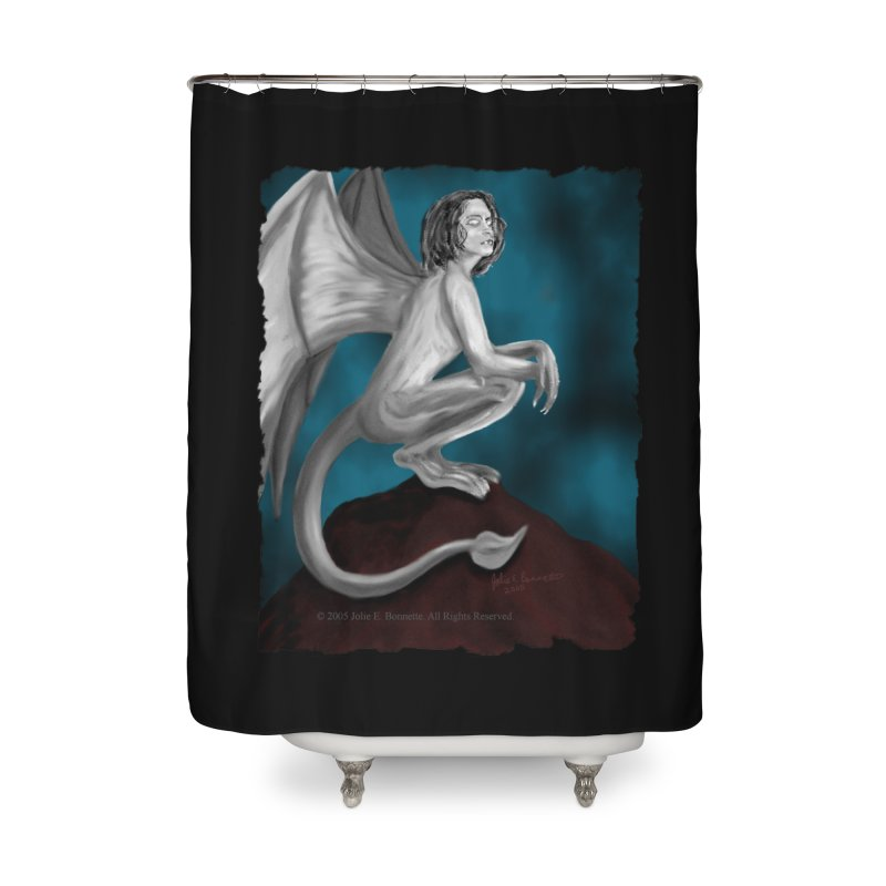 Succubus Dreams Home Shower Curtain by Magickal Vision: The Art of Jolie E. Bonnette