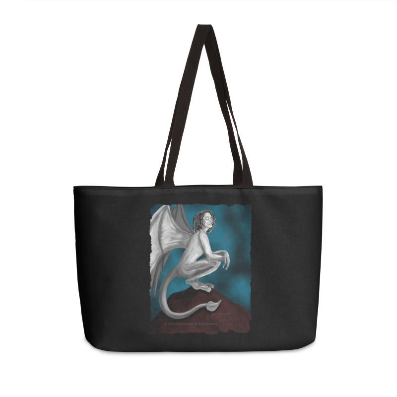 Succubus Dreams Accessories Weekender Bag Bag by Magickal Vision: The Art of Jolie E. Bonnette