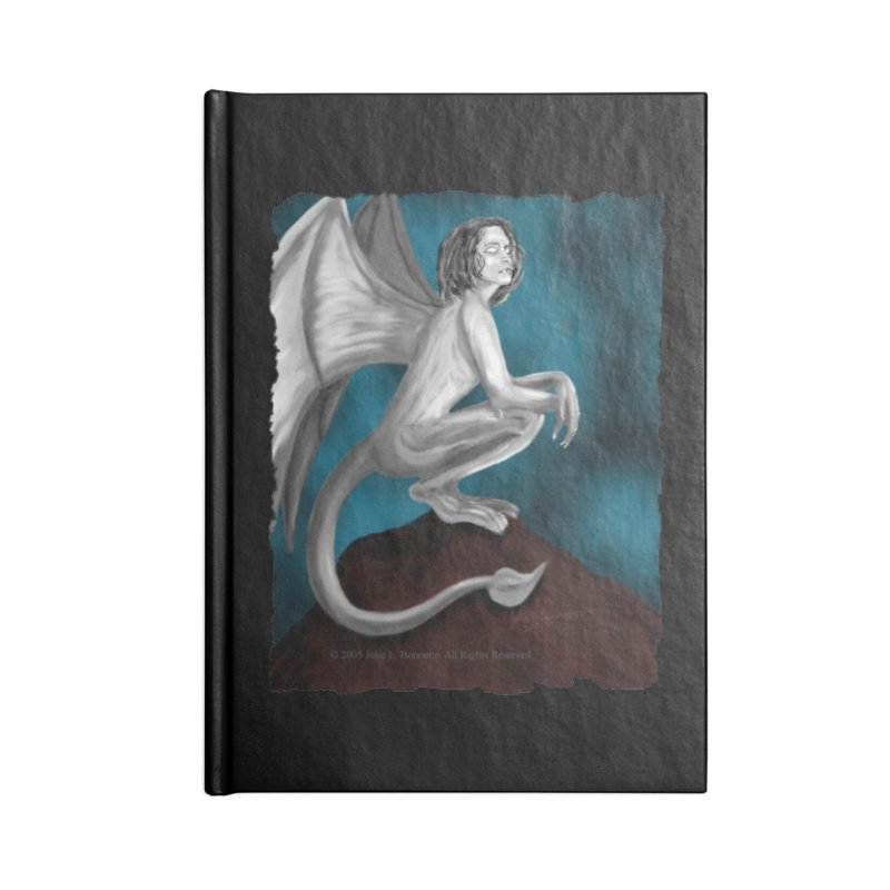 Succubus Dreams Accessories Blank Journal Notebook by Magickal Vision: The Art of Jolie E. Bonnette