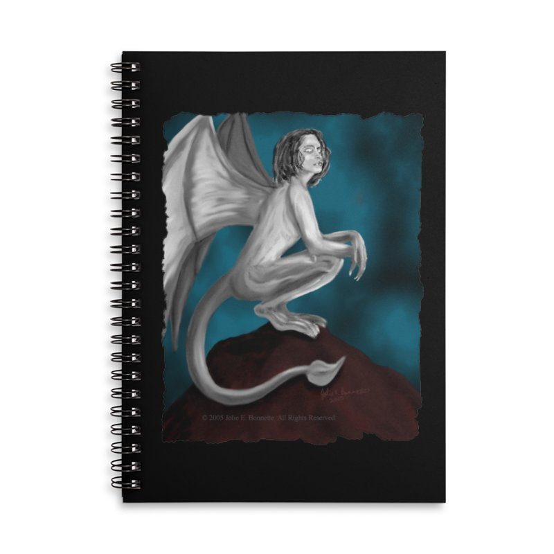 Succubus Dreams Accessories Lined Spiral Notebook by Magickal Vision: The Art of Jolie E. Bonnette