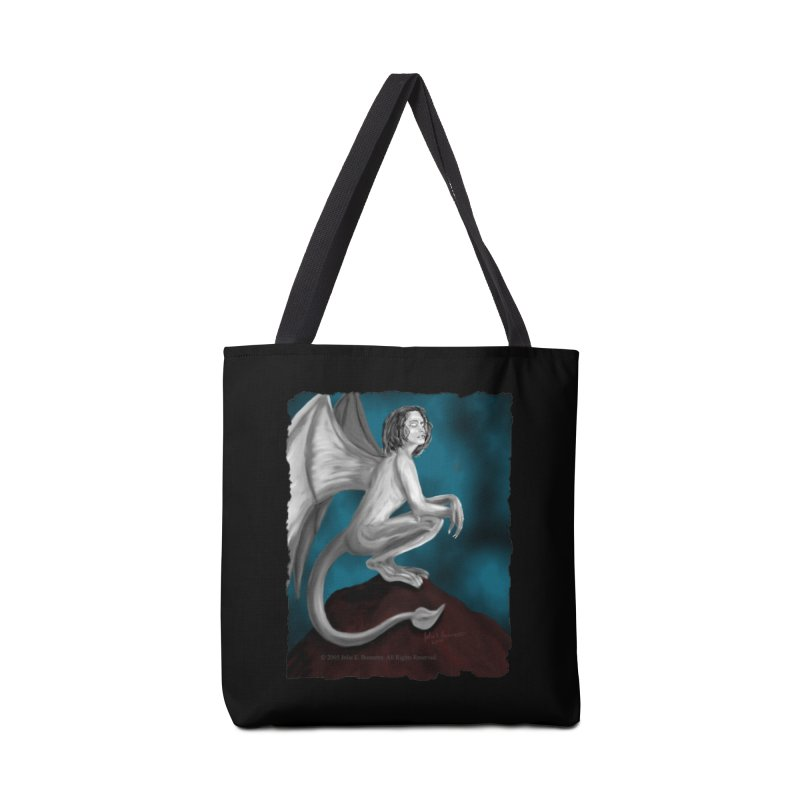 Succubus Dreams Accessories Tote Bag Bag by Magickal Vision: The Art of Jolie E. Bonnette