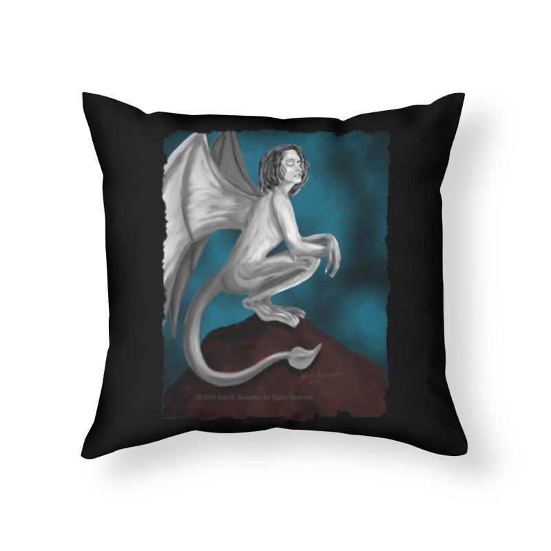 Succubus Dreams Home Throw Pillow by Magickal Vision: The Art of Jolie E. Bonnette