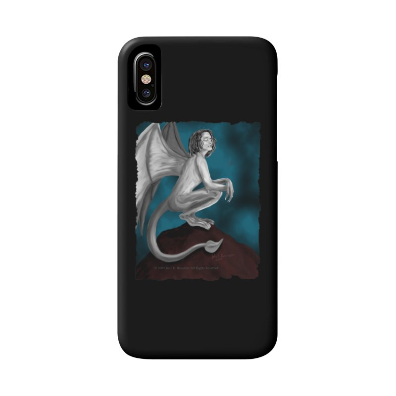 Succubus Dreams Accessories Phone Case by Magickal Vision: The Art of Jolie E. Bonnette