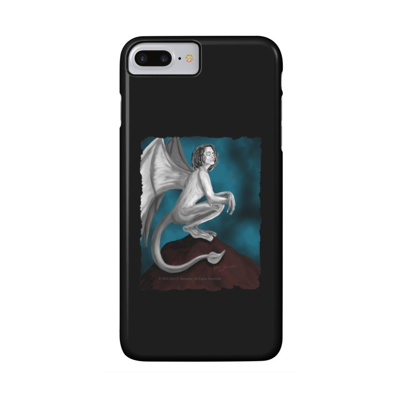 Succubus Dreams Accessories Phone Case by Magickal Vision: The Art of Jolie E. Bonnette