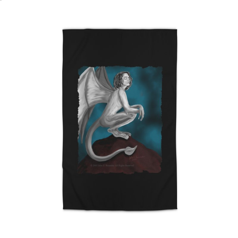 Succubus Dreams Home Rug by Magickal Vision: The Art of Jolie E. Bonnette