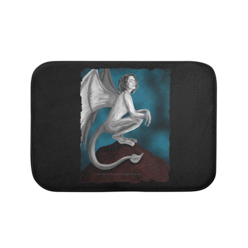 Succubus Dreams Home Bath Mat by Magickal Vision: The Art of Jolie E. Bonnette