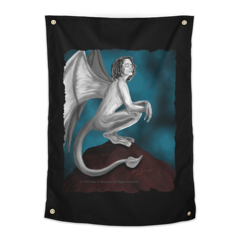 Succubus Dreams Home Tapestry by Magickal Vision: The Art of Jolie E. Bonnette