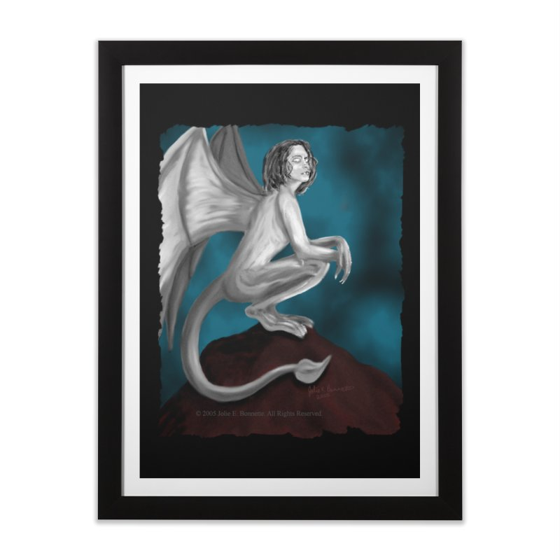Succubus Dreams Home Framed Fine Art Print by Magickal Vision: The Art of Jolie E. Bonnette