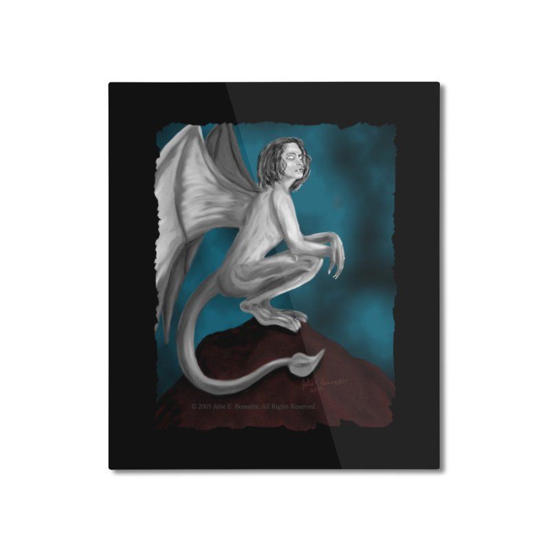 Succubus Dreams Home Mounted Aluminum Print by Magickal Vision: The Art of Jolie E. Bonnette