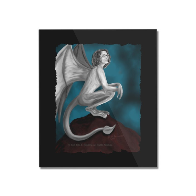 Succubus Dreams Home Mounted Acrylic Print by Magickal Vision: The Art of Jolie E. Bonnette