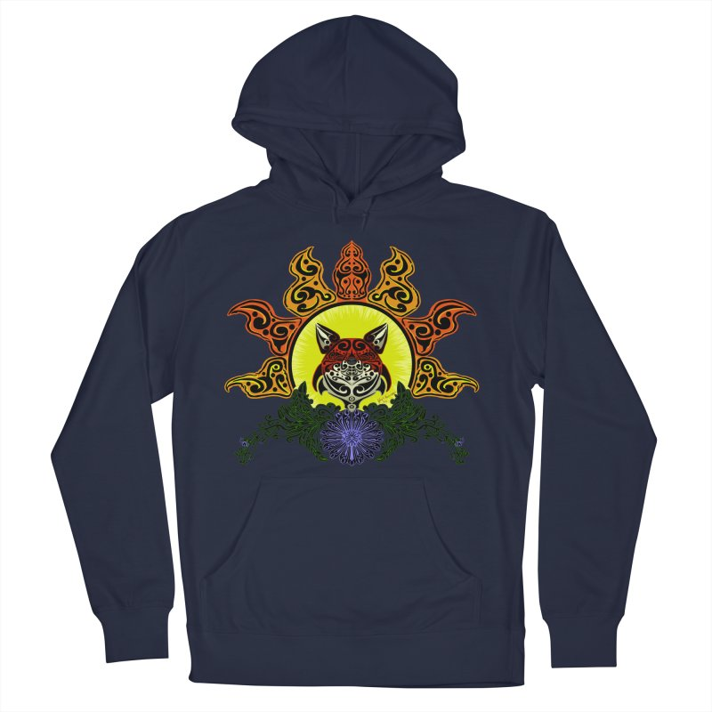 Fox Trybe Women's Pullover Hoody by Magickal Vision: The Art of Jolie E. Bonnette