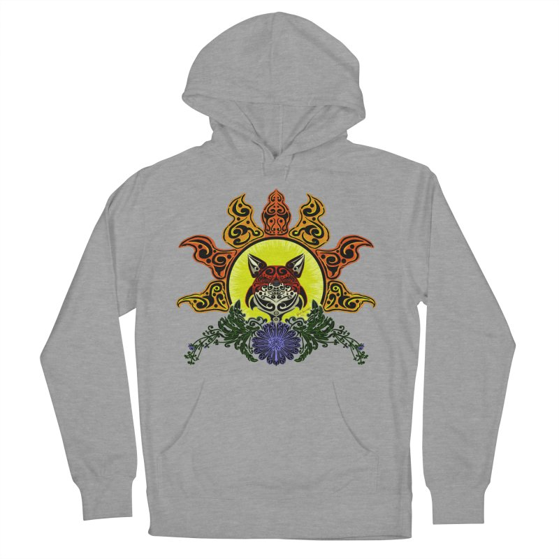 Fox Trybe Men's Pullover Hoody by Magickal Vision: The Art of Jolie E. Bonnette