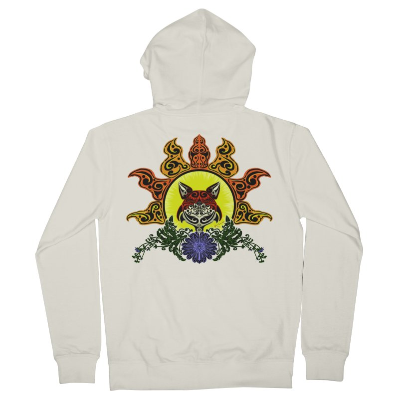 Fox Trybe Men's Zip-Up Hoody by Magickal Vision: The Art of Jolie E. Bonnette