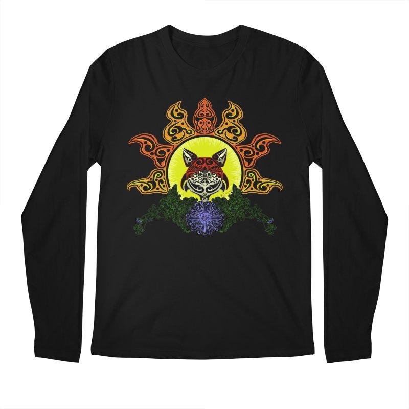 Fox Trybe Men's Regular Longsleeve T-Shirt by Magickal Vision: The Art of Jolie E. Bonnette