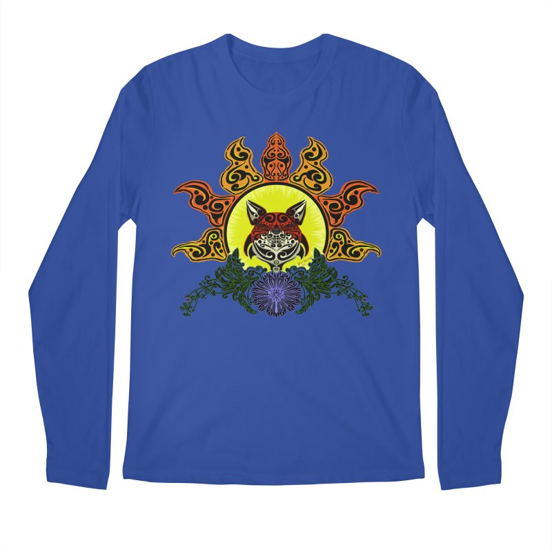Fox Trybe Men's Longsleeve T-Shirt by Magickal Vision: The Art of Jolie E. Bonnette