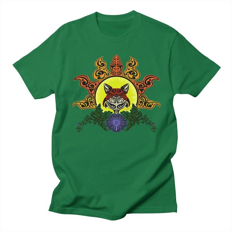 Fox Trybe Women's Regular Unisex T-Shirt by Magickal Vision: The Art of Jolie E. Bonnette