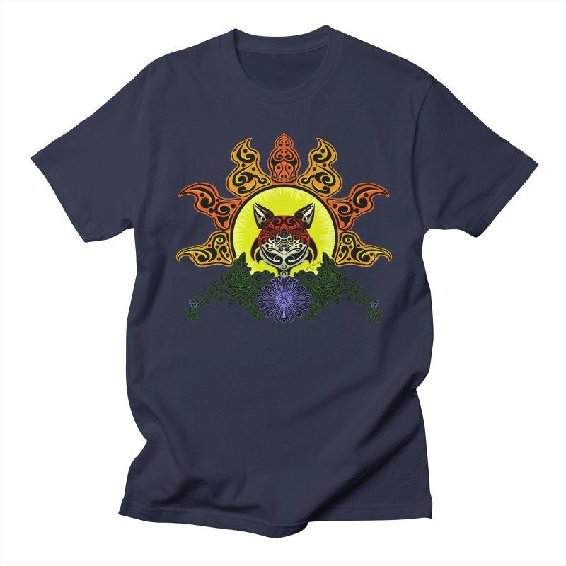 Fox Trybe Men's T-shirt by Magickal Vision: The Art of Jolie E. Bonnette