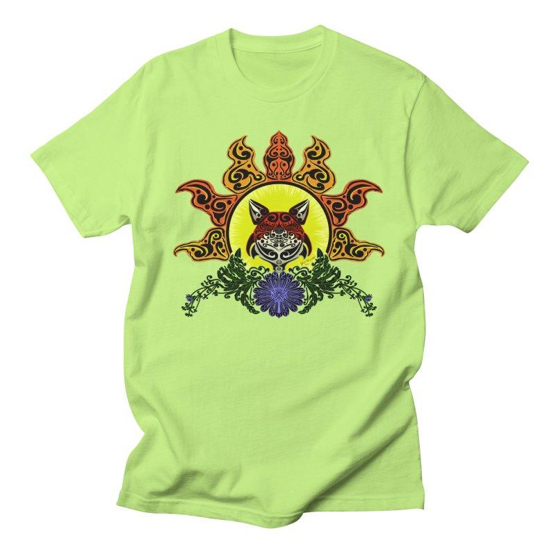 Fox Trybe Women's Unisex T-Shirt by Magickal Vision: The Art of Jolie E. Bonnette